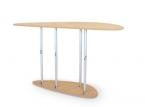 Table ovale personnalisée