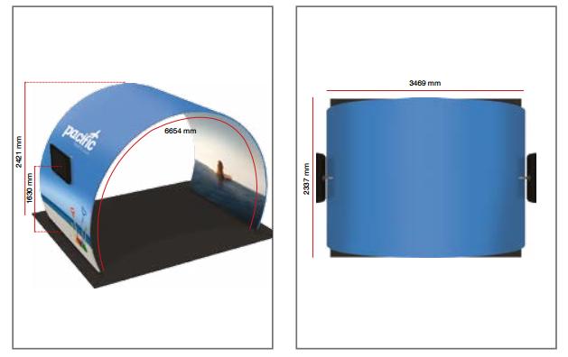 Dimensions arche Formulate