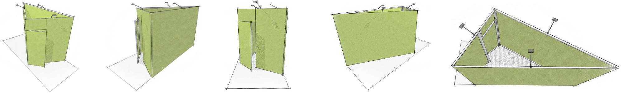 Réserve personnalisée triangulaire