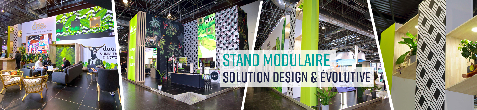 Stand modulaire Panoramic